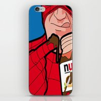 secret life iPhone & iPod Skins featuring secret life by eatpersonality
