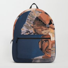 Picasso and cat Backpack