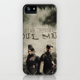 Outlaw Queen / Star Crossed iPhone Case