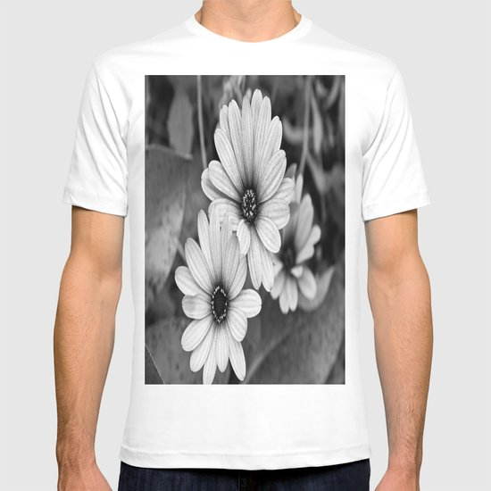 Black & White Bloom T-shirt