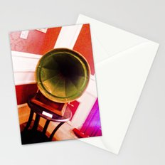Phonograph to tango. Stationery Cards