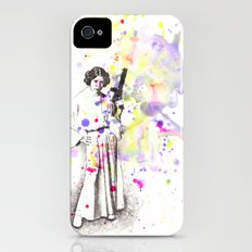 Princess Leia From Star Wars iPhone (4, 4s) Slim Case