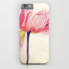 Isis. Poppy flower photograph iPhone 6 Slim Case