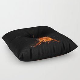 I See Fire Floor Pillow