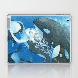 Orca Guardian Mermaid Laptop & iPad Skin