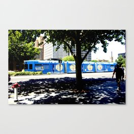 Adelaide Tram Canvas Print