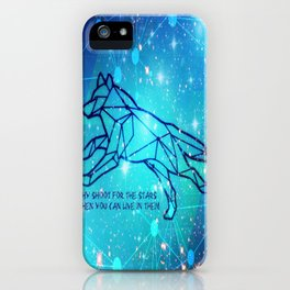Livin in the Stars iPhone Case