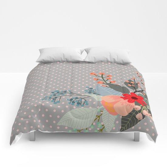 Flowers bouquet #8 Comforters