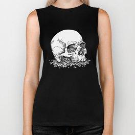 Skull on Pills Biker Tank