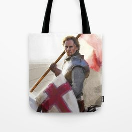 """Once More unto the Breach"" Tote Bag"