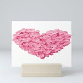 HEART ROSES ! Mini Art Print