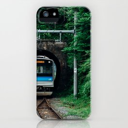 Tunnel Train iPhone Case