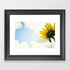 Waking Up Framed Art Print
