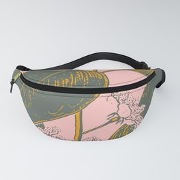 Modern Botanical Banana Leaf Fanny Pack