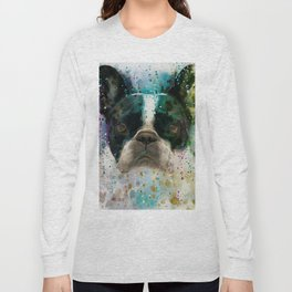 Paint It Frenchie Long Sleeve T-shirt