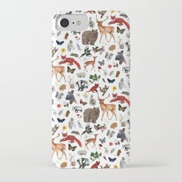 Wild Woodland Animals iPhone Case