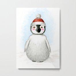 Cute Little Penguin Metal Print