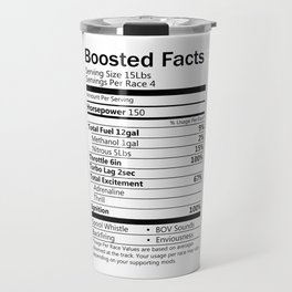 Boosted facts Travel Mug