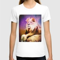 lion king T-shirts featuring King Lion by SwanniePhotoArt