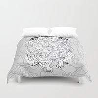 breaking Duvet Covers featuring Breaking Out by 5wingerone