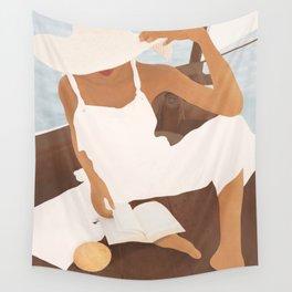 Summer Reading I Wall Tapestry