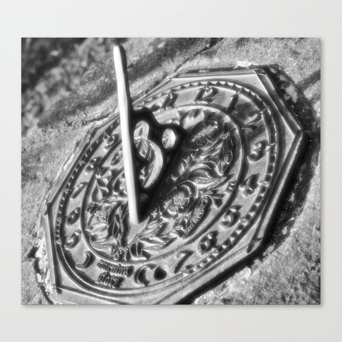 Round About Half Past Two Canvas Print