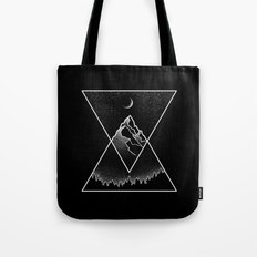 Pyramidal Peaks Tote Bag