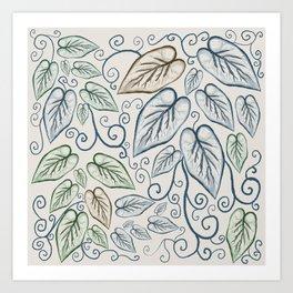 Vines Art Print