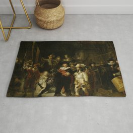 Rembrandt - The Night Watch (1642) Rug