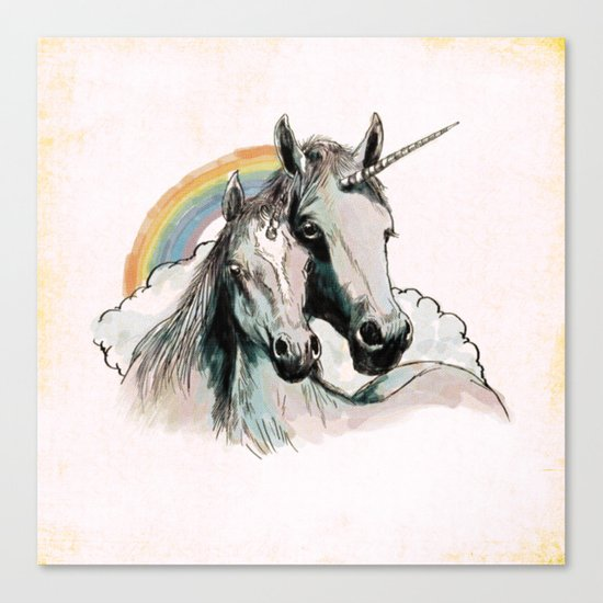 Unicorn III Canvas Print