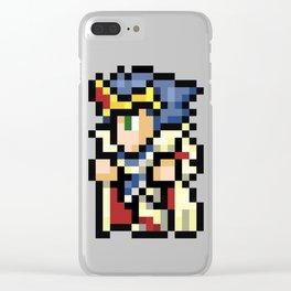 16-Bit Cecil Clear iPhone Case