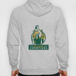 American Football Division Champions Retro Hoody