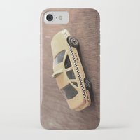 death cab for cutie iPhone & iPod Cases featuring cab by Vin Zzep