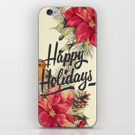 Vintage Christmas 26 iPhone Skin