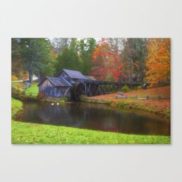 Mabry Mill in Virginia Canvas Print