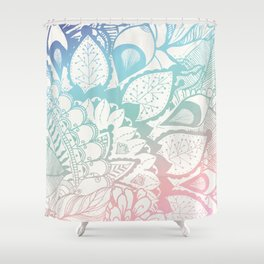 Feel the vibes Shower Curtain