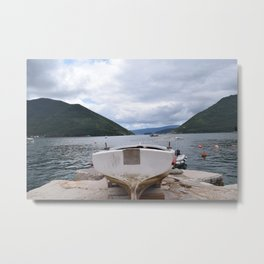 View From The Dock Metal Print