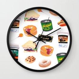 You Stuffed Your Face! Wall Clock