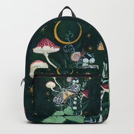 Mushroom night moth Backpack
