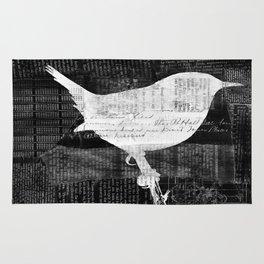 Paper Bird Rug