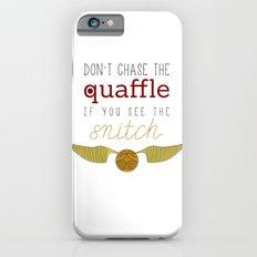 quaffle and snitch iPhone 6s Slim Case