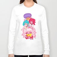jem Long Sleeve T-shirts featuring fanart Jem and the Holograms by Lady Love