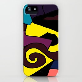 Let It Darken iPhone Case
