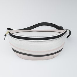 Proposal Festival Pink Texture Stripe Fanny Pack