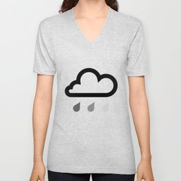 Cloud :) Unisex V-Neck