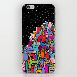Pile of Monsters iPhone Skin