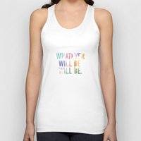whatever Tank Tops featuring Whatever by TheSmallCollective