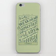 Jane Austen Covers: Emma iPhone & iPod Skin