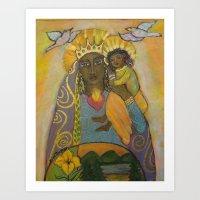 Queen of Compassion Art Print