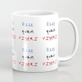 motto of north carolina – esse quam videri Coffee Mug